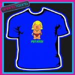 KEITH LEMON POTATO CELEBRITY CARTOON WEE MAN TSHIRT